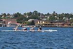 Port Townsend, Rat Island Regatta, Rainer Storb;, Maas OW Quad,  rowers, racing, Sound Rowers, Rat Island Rowing Club, Puget Sound, Olympic Peninsula, Washington State, water sports, rowing, kayaking, competition,