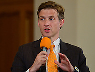 Baltimore, MD - June 2, 2018:  Alec Ross participates in a forum with democrat candidates for Maryland Governor at the New Waverly United Methodist Church in Baltimore, Maryland June 2, 2018. Leaders of a Beautiful Struggle sponsored the forum. (Photo by Don Baxter/Media Images International)