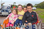 Pictured at the Camp vintage fair on Sunday, from left: Jamie Lee Chawke, Shona Chawke, Mark Chawke and Darragh Chawke from Ballymac..
