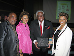Woodie King, Jr. and Dionne Warwick were honored by AMAS at the 40th Anniversary gala benefit at The Lighthouse on 3/30/09. (Photo by Lia Chang)
