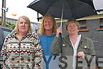 0060.Braving the elements at the Barbeque held in aid of The RNLI and Churchill Ladies Football at Fenit Strand on Sunday were l/r Theresa Dinner, Jill Tynan and Margaret O'Sullivan...............   Copyright Kerry's Eye 2008