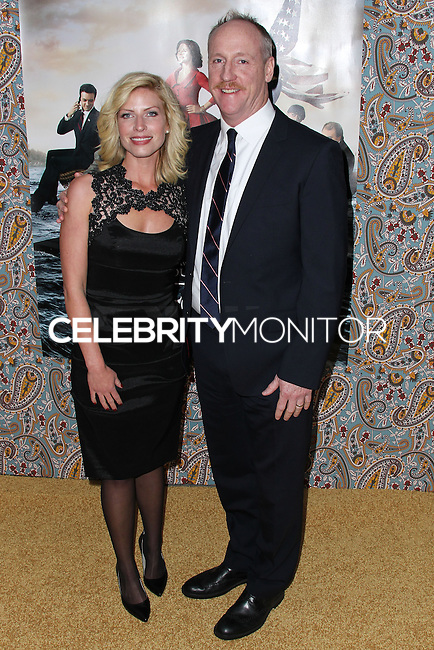 "HOLLYWOOD, LOS ANGELES, CA, USA - MARCH 24: Morgan Walsh, Matt Walsh at the Los Angeles Premiere Of HBO's ""Veep"" 3rd Season held at Paramount Studios on March 24, 2014 in Hollywood, Los Angeles, California, United States. (Photo by Xavier Collin/Celebrity Monitor)"