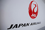 May 18th, 2011, Tokyo, Japan - Japan Airlines announces the fiscal 2010 business results during a news conference at its head office in Tokyo on Wednesday, May 18, 2011. JAL reported the operating profit much larger than targeted in its rehabilitation plan but said fell into the red in April in the wake of the March 11 earthquake and tsunami. (Photo by AFLO) [3609] -mis-.