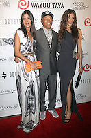 May 21, 2012 Patricia Velasquez, Russell Simmons and Dayana Mendoza at the 10th Anniversary gala of the Wayuu Taya Foundation at the Dream Downtown Hotel in New York City. Credit: RW/MediaPunch Inc. .Credit:RWMediapunchinc.com