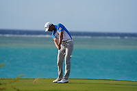 Victor Perez (FRA) on the 17th during Round 3 of the Saudi International at the Royal Greens Golf and Country Club, King Abdullah Economic City, Saudi Arabia. 01/02/2020<br /> Picture: Golffile | Thos Caffrey<br /> <br /> <br /> All photo usage must carry mandatory copyright credit (© Golffile | Thos Caffrey)