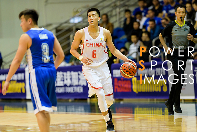 Ailun Guo of China during the FIBA Basketball World Cup 2019 Asian Qualifier Group A match between Hong Kong and China at Southorn Stadium on February 26, 2018 in Hong Kong. Photo by Marcio Rodrigo Machado / Power Sport Images