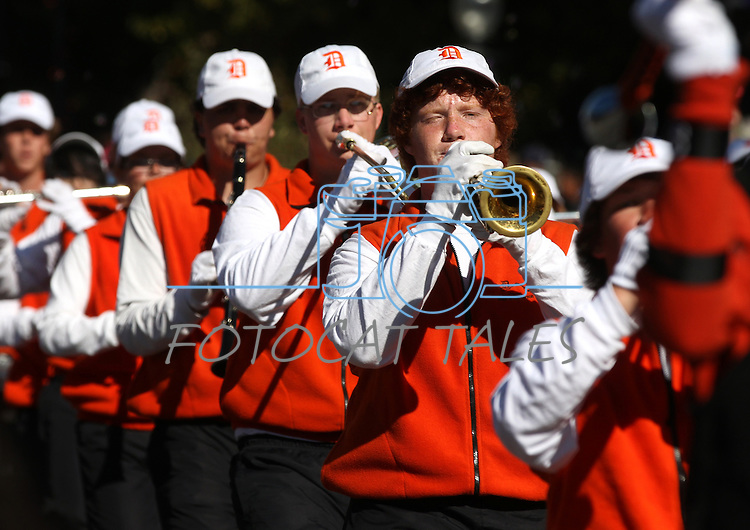 The Douglas High School Marching Band performs in the annual Nevada Day Parade in Carson City, Nev., on Saturday, Oct. 28, 2011..Photo by Cathleen Allison