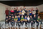 St Senan's U/12 Winners:Medal Winners: St. Senan's Under 12 Team who  were presented with their Qualifing  Medals at a function in The Clubhouse in Mountcoal on Monday evening last by Kerry football star Colm Cooper. Front LR: Conor Kennelly, Darragh Behan, Jack Hennessy, Jacqueline Horgan, Darragh Regan, Darragh Kennelly, Gearoid Galvin, Kevin Dillon, Barry O'Mahony, Colin Stack & Sean Galvin, .Back LR: Paudie Brosnan(Sel), Sean Dillon, Luke O'Sullivan,Adrian O'Mahony, James Keane(sel), Padraigh Logue, David Behan, Colin Brown, Aoife Behan, Colm Cooper, Bill Keane, Raymond O'Mahony, Donnacha Brosnan, Denis O'Mahony(Trainer), Cathal Kennelly & Marian McAulliffe(sel).