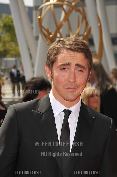 """Pushing Daisies"" star Lee Pace at the Creative Arts Emmy Awards at the Nokia Live Theatre, Los Angeles..September 13, 2008  Los Angeles, CA.Picture: Paul Smith / Featureflash"