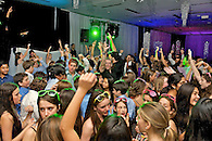 Dance floor energy at a New York  Mitzvah celebration