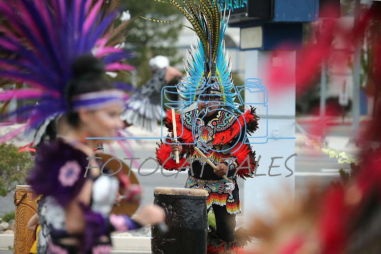 International Folkloric Dancers perform at the Cinco de Mayo celebration at the Carson City Library, in Carson City, Nev., on Saturday, May 5, 2018. The event is part of the NEA Big Read program featuring the book &ldquo;True Grit&rdquo;. <br />