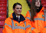 Stewards with kick it out badge during the English Football League One match at Bramall Lane, Sheffield. Picture date: November 19th, 2016. Pic Jamie Tyerman/Sportimage