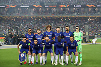 BAKU,AZERBAIJAN,29.MAY.19 - SOCCER - UEFA Europa League, final, Chelsea FC vs Arsenal FC <br /> Chelsea Team Line up <br /> FOT. PIOTR KUCZA/FOTOPYK / NEWSPIX.PL / Insidefoto