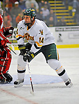 19 January 2008: University of Vermont Catamounts' forward Brian Roloff, a Sophomore from West Seneca, NY, in action against the Northeastern University Huskies at Gutterson Fieldhouse in Burlington, Vermont. The Catamounts defeated the Huskies 5-2 to close out their 2-game weekend series...Mandatory Photo Credit: Ed Wolfstein Photo
