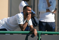 Ashley Cole  during the UEFA Youth League match between Chelsea U19 and Valencia Juvenil A at the Chelsea Training Ground, Cobham, England on 17 September 2019. Photo by Andy Rowland.