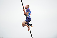 FIERJLEPPEN: JOURE: 18-06-2014, ROC Friese Poort Competitie, Junioren A, Age Hulder, ©foto Martin de Jong