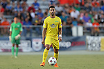 01 August 2015: Tampa Bay's Juan Guerra (VEN). The Carolina RailHawks hosted the Tampa Bay Rowdies FC at WakeMed Stadium in Cary, North Carolina in a North American Soccer League 2015 Fall Season match. The game ended in a 1-1 tie.