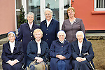 Miltown Secondary nuns pictured at the schools 50th anniversary celebration last week, from left, seated, Sr. Sr. Borgia, Sr. Maureen Cremin, Sr. Raymond and Sr. Augustine. At back, Sr. Joan, Sr. Columbanus and <br /> Photograph Sally MacMonagle.