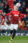 Bastian Schweinsteiger of Manchester United during the Emirates FA Cup match at Old Trafford. Photo credit should read: Philip Oldham/Sportimage