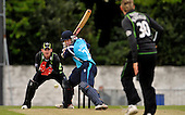 Scottish Saltires V Surry Lions - CB40 Cricket - Citylets Grange ground in Edinburgh - intent shows in the eyes of Saltires batsman Neil McCallum as he looks to score of the bowling of Lions Chris Schofield - McCallum went on to score 53 - Lions keeper is Steve Davies - Picture by Donald MacLeod - 15.05.11 - 07702 319 738 - www.donald-macleod.com - clanmacleod@btinternet.com