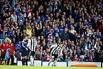 Rangers fans applaud as Calum Gallagher comes on for Dt Mirren