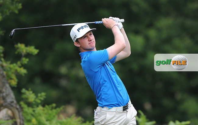 Connor Syme of Scotland during the Second Round of The Brabazon Trophy 2015 at Notts Golf Club, Nottingham, England. Picture: Golffile | Richard Martin-Roberts<br /> All photo usage must carry mandatory copyright credit (&copy; Golffile | Richard Martin- Roberts)