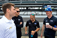 Verizon IndyCar Series<br /> Indianapolis 500 Drivers Meeting<br /> Indianapolis Motor Speedway, Indianapolis, IN USA<br /> Saturday 27 May 2017<br /> Will Power, Team Penske Chevrolet, Max Chilton, Chip Ganassi Racing Teams Honda, Tony Kanaan, Chip Ganassi Racing Teams Honda, Scott Dixon, Chip Ganassi Racing Teams Honda<br /> World Copyright: F. Peirce Williams