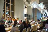 The scene at The Counting House Bar in the 21c Hotel in Durham, N.C. on Sunday, March 8, 2015. (Justin Cook)