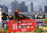 Olympic Games 2012; Equestrian - Venue: Greenwich Park. Maikel van der Vleuten (NED).Horse: Verdi.