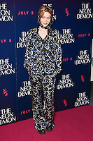 Billie JD Porter<br /> arrives for the premiere of &quot;The Neon Demon&quot; at the Picturehouse Central, London.<br /> <br /> <br /> &copy;Ash Knotek  D3125  30/05/2016