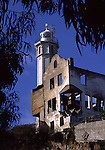 Lighthouse on Alcatraz Island