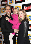 David Korins & Family attending the Broadway Opening Night Performance of 'Annie' at the Palace Theatre in New York City on 11/08/2012