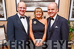 Fr Padraig Walsh with Mary and Joe McMahon attending the Scoil Eoin Valentine's Ball Fundraiser in the Ballygarry House Hotel on Friday night.