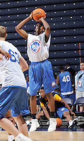 2G Matt Humphrey (Chicago, IL / Hales Franciscian) shoots the ball during the NBA Top 100 Camp held Thursday June 21, 2007 at the John Paul Jones arena in Charlottesville, Va. (Photo/Andrew Shurtleff)