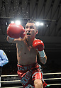 Hugo Cazares (MEX), DECEMBER 23, 2010 - Boxing :Hugo Fidel Cazares of Mexico in action during the 7th round of the WBA super flyweight title bout at Osaka Prefectural Gymnasium in Osaka, Osaka, Japan. (Photo by Mikio Nakai/AFLO).