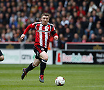 John Fleck of Sheffield Utd  in action during the English League One match at Bramall Lane Stadium, Sheffield. Picture date: April 17th 2017. Pic credit should read: Simon Bellis/Sportimage