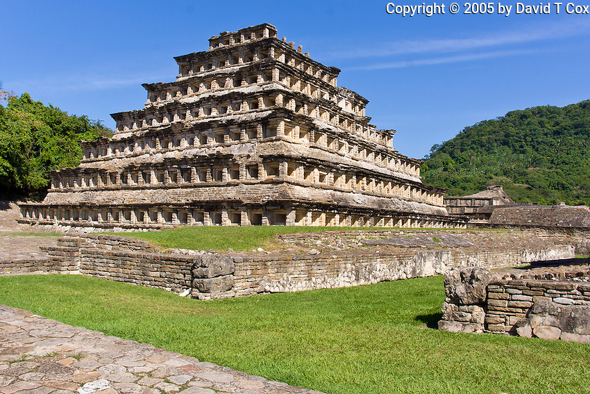 Pyramid of Niches, El Tajin, Mexico