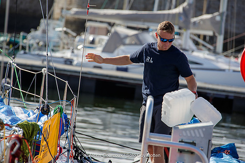 Kenny Rumball will be racing around the Fastnet Rock next week in the first leg of the 2020 La Solitaire du Figaro