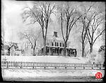 Frederick Stone negative. Merriman Homestead, January 11, 1901.