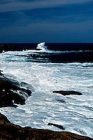 Ocean scene on the Australian coast