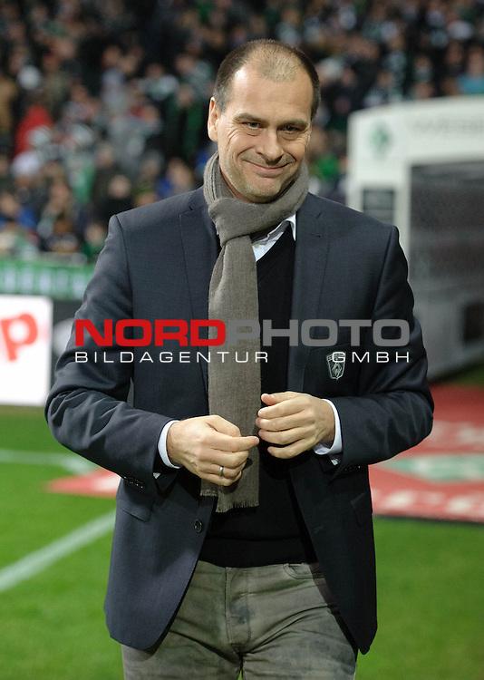 24.11.2013, Weserstadion, Bremen, GER, 1.FBL, Werder Bremen vs 1. FSV Mainz 05, im Bild Klaus Filbry (Geschaeftsfuehrer Werder Bremen)<br /> <br /> Foto &not;&copy; nph / Frisch