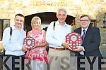 Paul Garnett, second from right, winner of the Killarney Camera Clubs photographer of the Year competition, pictured as he was presented with the prize on Friday by Sean Kelly, competition sponsor, at the Heights Hotel, Killarney. Also pictured are Seamus Long, chairman and Maura Keane, winner of the Novice of the Year competition. ................................................................................................