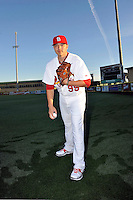 Mar 01, 2010; Jupiter, FL, USA; St. Louis Cardinals pitcher Charlie Zink (99) during  photoday at Roger Dean Stadium. Mandatory Credit: Tomasso De Rosa/ Four Seam Images