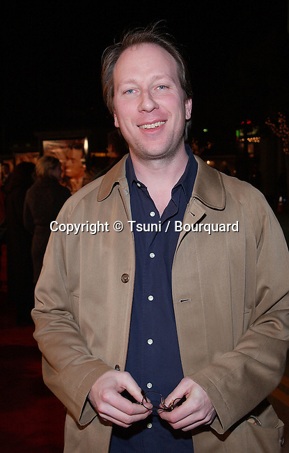 Rolfe Kent - composer -  arriving at the after party for Kate & Leopold at the St Regis Hotel in Century City, Los Angeles. December, 11, 2001             -            KentRolfe_composer02.jpg