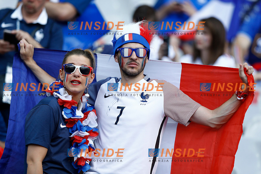 Tifosi Francia France supporters<br /> Paris 10-07-2016 Stade de France Football Euro2016 Portugal - France / Portogallo - Francia Finale/Finals<br /> Foto Matteo Ciambelli / Insidefoto