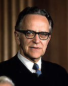 "Associate Justice of the United States Supreme Court Harry A. Blackmun photographed at the Supreme Court in Washington, D.C. on Monday, April 24, 1972.  Blackmun was appointed in 1970 by U.S. President Richard M. Nixon..Credit: Benjamin E. ""Gene"" Forte / CNP"