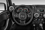 Car pictures of steering wheel view of a 2017 JEEP Wrangler-Unlimited Rubicon 5 Door SUV Steering Wheel