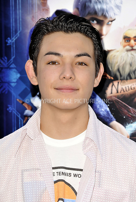 WWW.ACEPIXS.COM....November 4 2012, LA....Ryan Potter arriving at the gala screening of 'Rise Of The Guardians' during the 2012 AFI FEST at Grauman's Chinese Theatre on November 4, 2012 in Hollywood, California. ......By Line: Peter West/ACE Pictures......ACE Pictures, Inc...tel: 646 769 0430..Email: info@acepixs.com..www.acepixs.com