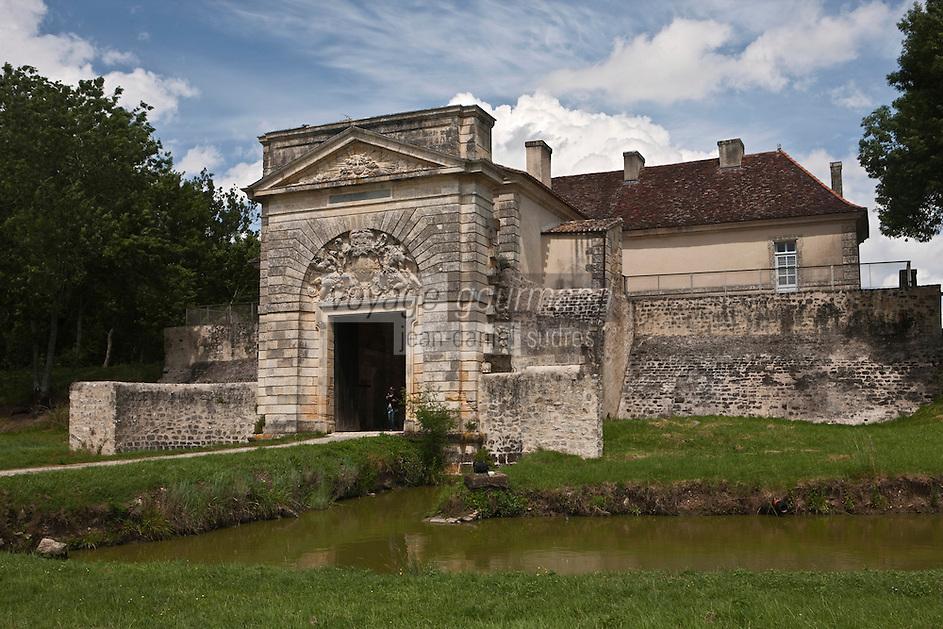 Europe/France/Aquitaine/33/Gironde/Cussac-Fort-Médoc: Le Fort  Médoc construit par Vauban - la Porte Royale