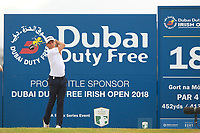 Joakim Lagergren (SWE) during the 3rd round of the Dubai Duty Free Irish Open, Ballyliffin Golf Club, Ballyliffin, Co Donegal, Ireland.<br /> Picture: Golffile | Thos Caffrey<br /> <br /> <br /> All photo usage must carry mandatory copyright credit (&copy; Golffile | Thos Caffrey)